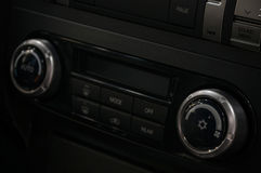 Car climate control panel. Stock Photography