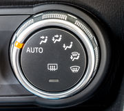 Car climate control switch 1 Royalty Free Stock Photography
