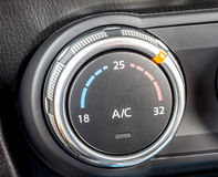 Car climate control switch 2 Royalty Free Stock Image