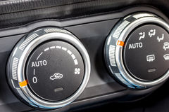 Car climate control switch 3 Royalty Free Stock Photography