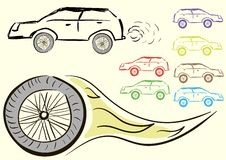 Car clipart Royalty Free Stock Images