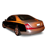 Car / Clipping Path. Car with clipping path stock photos
