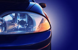 Car closeup Stock Images