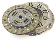 Car clutch isolated Stock Images