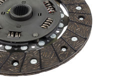 Car clutch  plate Royalty Free Stock Photography