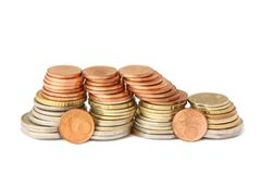 Car of coins Stock Photo