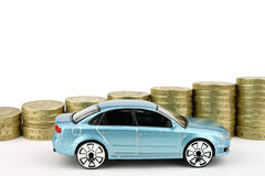 Car And Coins Stock Image