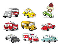 Car Collection Royalty Free Stock Photography