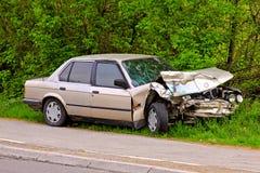 Car collision Stock Photo