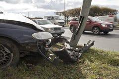 Car collision Royalty Free Stock Photo