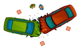 Car collision Royalty Free Stock Photos
