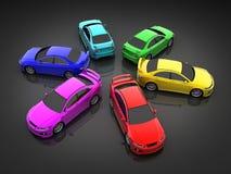 Car colour Stock Photo