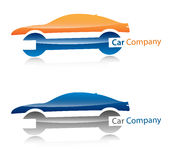 Car company logo. Several logo elements, which can be used as your company logo Royalty Free Illustration