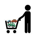 Car concept. Design, vector illustration eps10 graphic Stock Images