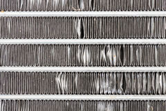 Car Condenser or Cooling Air Condition Part in Car Royalty Free Stock Photos