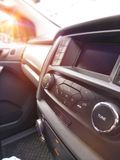 Car console interior Stock Photography