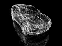 Car construction Royalty Free Stock Photography