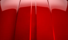 Car Contour Cherry Red Stock Image