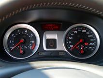 car control panel Στοκ φωτογραφία με δικαίωμα ελεύθερης χρήσης