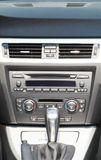 The car control panel Royalty Free Stock Photo