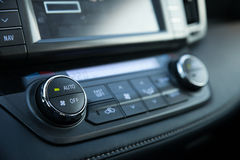 Car Control Panel Royalty Free Stock Photo