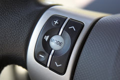 Car controls Stock Image