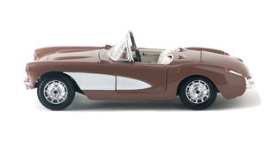 Car convertible toy Royalty Free Stock Images