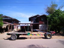 Car for corn to thailand Stock Images