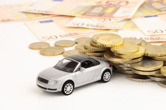 Car Cost Wave Royalty Free Stock Image
