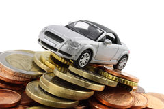 Car Costs. A general metaphor for car finance, sale ,debt and costs Stock Photography