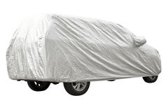 Car cover Stock Image