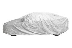 Car cover Stock Photo