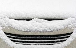 Car covered snow Royalty Free Stock Images