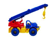 Car - crane clipping path Stock Image