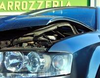 Car crash royalty free stock photography