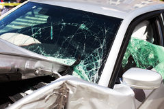 Car crash Royalty Free Stock Image