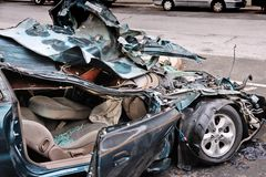 Car Crash Royalty Free Stock Photography