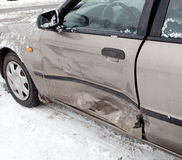 Car crash accident Royalty Free Stock Photography