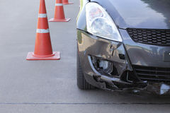 Car crash accident Stock Photos