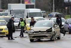Car crash accident Royalty Free Stock Photos