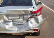 Car crash accident Stock Photography