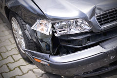 Car crash accident Royalty Free Stock Images