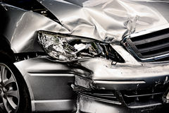 Car crash background Royalty Free Stock Images