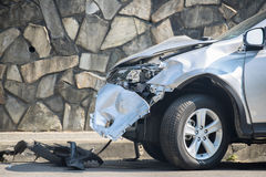 Car crash background Royalty Free Stock Image