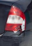 Car crash background Royalty Free Stock Photo