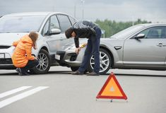Free Car Crash Collision Royalty Free Stock Images - 33925249