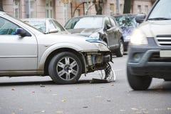 Car crash collision Royalty Free Stock Photo