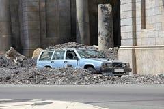 Car Crash Stock Image