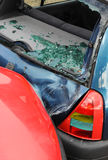 Car crash and damage stock images