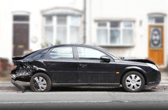 Car crash damage Stock Image